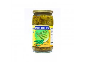 Mitchell's Green Chili Pickle(330gm)