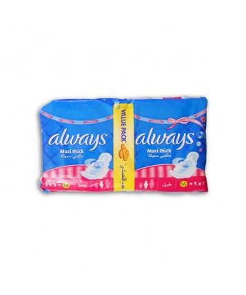 Always Maxi Thick(Double Pack Long/Extra Long)