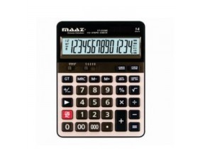 12 Digit Maaz Calculator MJ-120