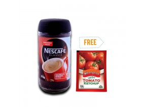 Buy 2 Nescafe Coffee 200gm & Get 100gm Shangrilla Ketchup Free