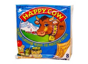 Happy Cow Cheddar Cheese 150gm