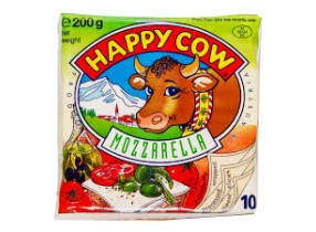 Happy Cow Mozzarelle Cheese 200gm