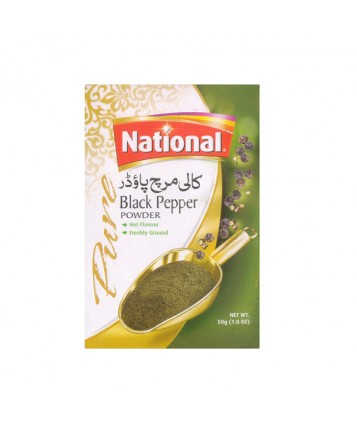 National Black Pepper Powder (50gm)