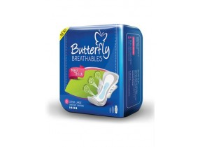 Butterfly Extra Long Sanitation Pads (8Pcs)