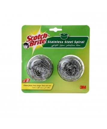 Scotch Brite Spiral (Twin Pack)