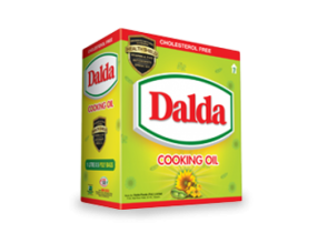 Dalda Cooking Oil(5ltr pouch)