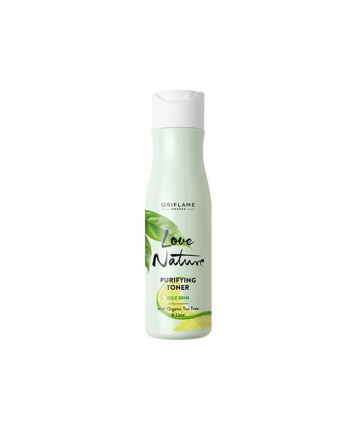 Oriflame Love Nature Purifying Toner with Organic Tea Tree & Lime 150ml