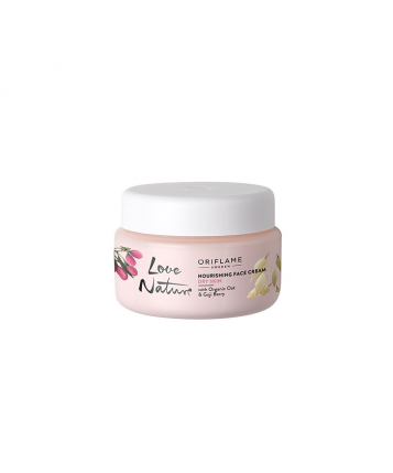 Oriflame Love Nature Nourishing Face Cream with Organic Oat & Goji Berry 50ml