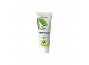 Oriflame Love Nature Purifying 2 in 1 Mask & Scrub with Organic Tea Tree & Lime 75ml