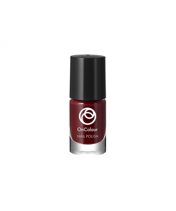 Oriflame OnColour Nail Polish (Burgundy Chochlate) 5ml