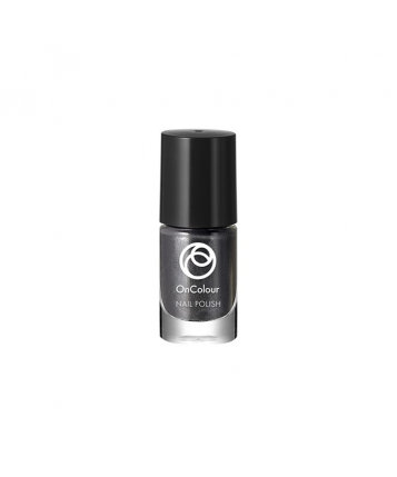 Oriflame OnColour Nail Polish (Silver Black) 5ml