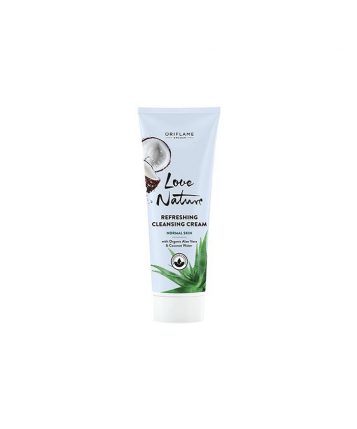 Oriflame Love Nature Refreshing Cleansing Cream with Aloe Vera & Coconut Water 125ml