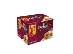 Jam Delight Half Roll Biscuits (Pack of 6)